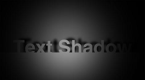 spotlight cast shadow