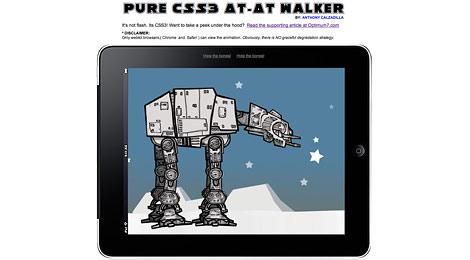css3 animation walker