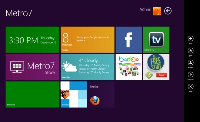 Metro Ui For Windows 7 把Win8的Metro UI移植到Win7上