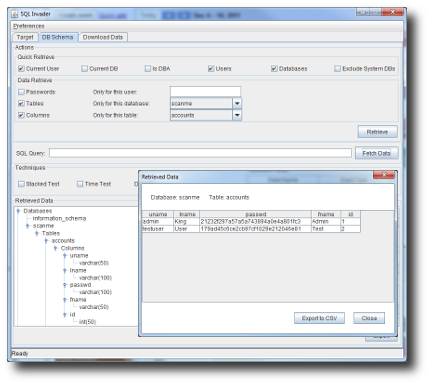 NTO SQL Invader