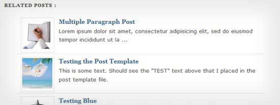 Wp-Thumbie – Related Posts with Thumbnails