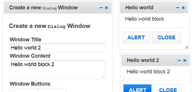 Windows-like Interface