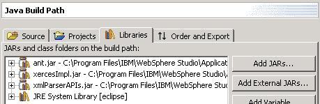 图 3:新的 Java 构建路径