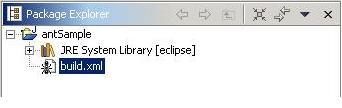 图 2:构建文件创建后的包浏览器