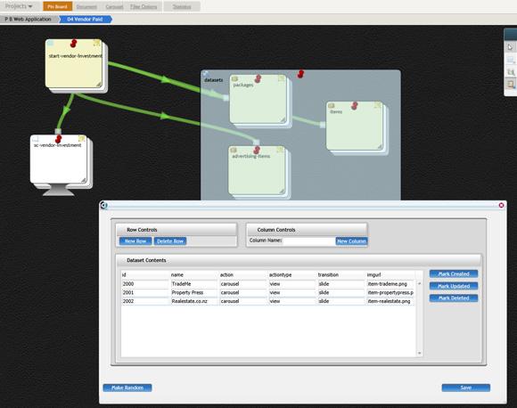 使用 DrawingBoard 的界面和业务逻辑以及模拟数据