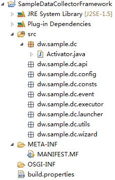 屏幕截图显示了一个典型项目的目录结构