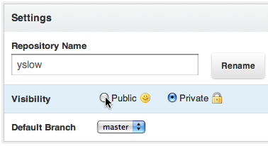Opensourcing YSlow on GitHub