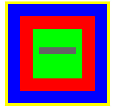 canvas 由一些颜色不同的矩形填充