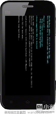 小米手机也能运行Windows XP/98