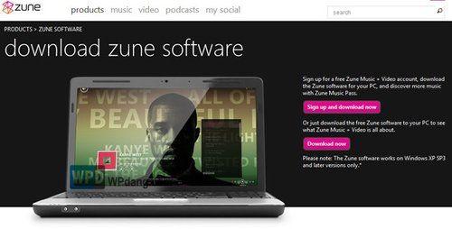 Zune软件教程