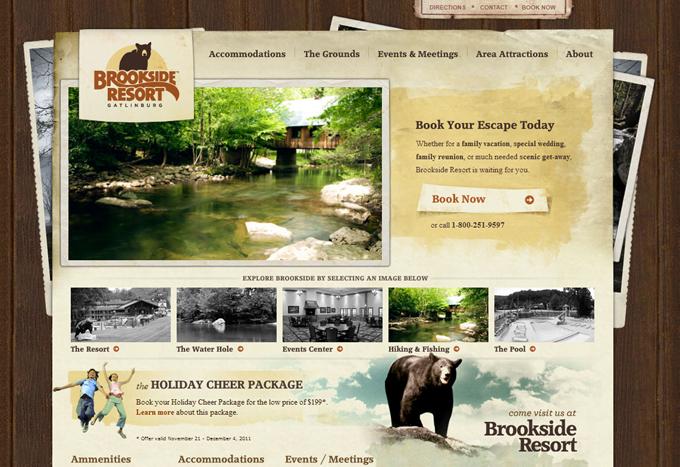 个旅游网站设计模板