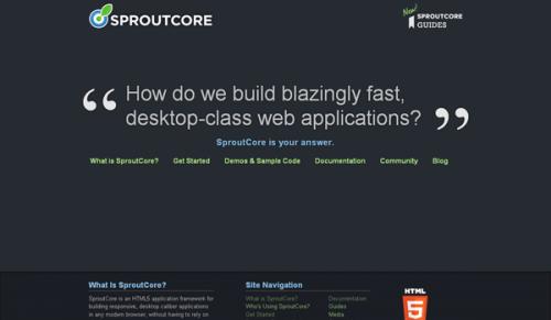 10大优秀的移动Web应用程序开发框架推荐