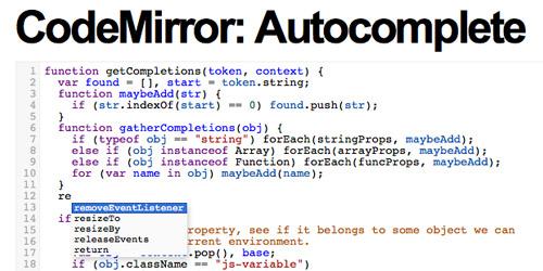 在线代码编辑器 CodeMirror