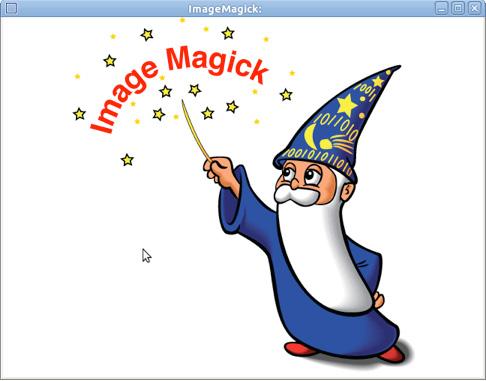 显示 ImageMagick 编辑器窗口的图片