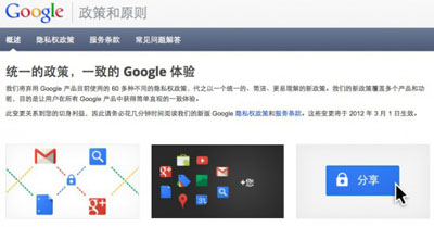 Google新隐私政策带来的改变