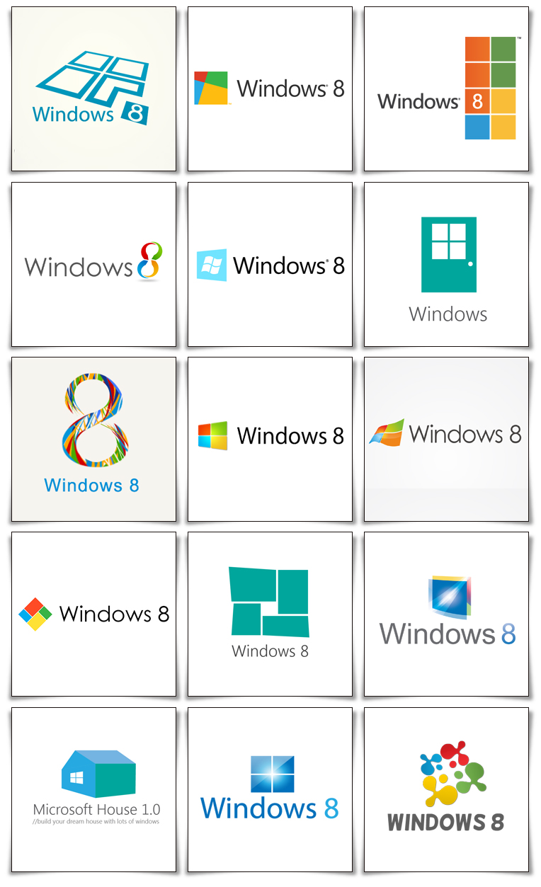 redesign microsoft windows logo fun guaranteed contest archon 2 Windows 8 第三方logo设计大赛获奖图案揭晓