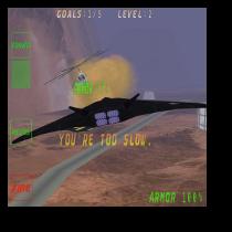 screenshot of F-42 Night Manta video game