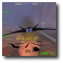 screenshot of F-42 Night Manta flight-simulator game