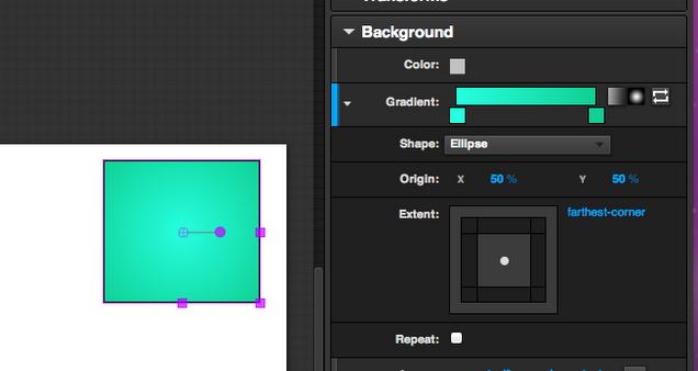New gradient editor