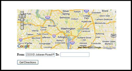 jQuery GPS