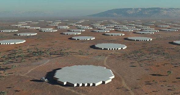中频孔径阵列,可一次对多个太空区域进行观测