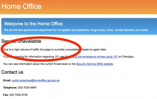 Home Office 520x328 Anonymous takes down UK Home Office site in response to proposed email surveillance