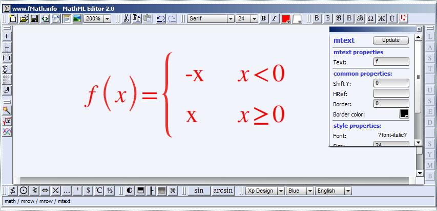 MathlML Editor