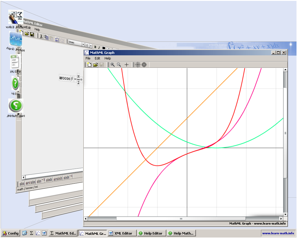 MathML WEB IDE