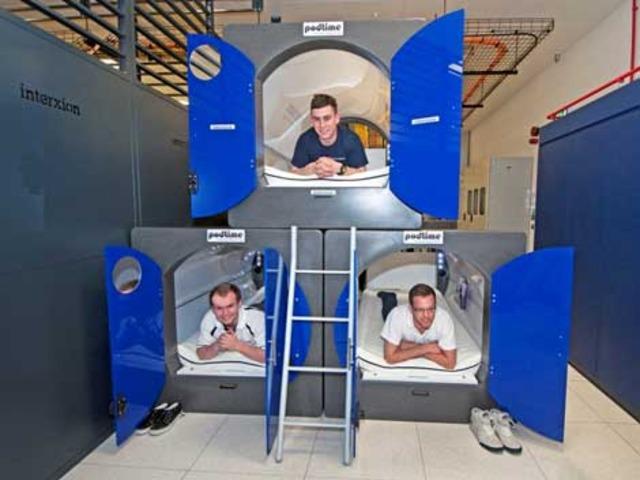 Interxion sleeping pods