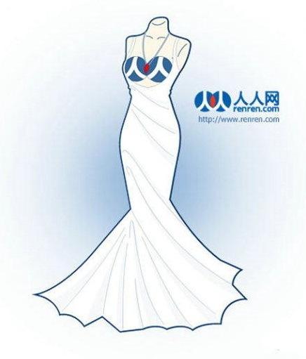 艺术家将当红网站设计成裙子