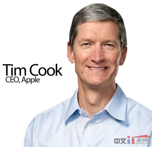 Tim Cook 苹果CEO Tim Cook 入选时代杂志2012百大最具影响力人物