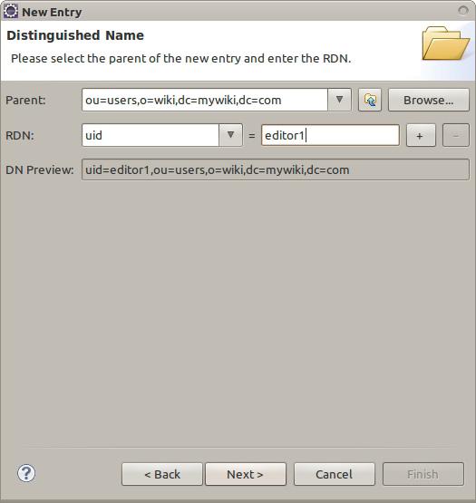 定义新用户的 uid 字段