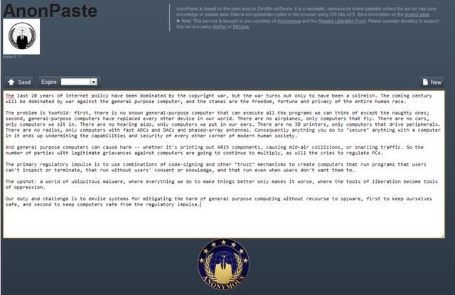 http://www.01net.com/editorial/564630/anonpaste-le-service-de-stockage-de-textes-en-ligne-des-anonymous/