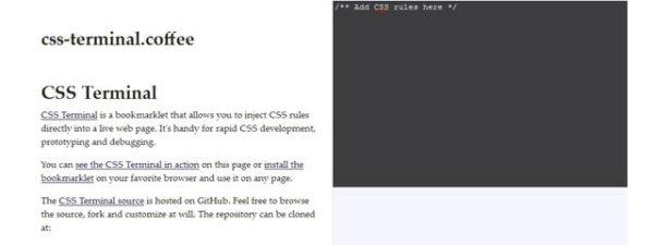 CSS Terminal