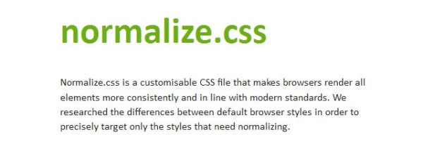 Normalize_css
