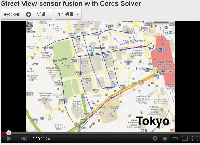 Street View sensor fusion with Ceres Solver