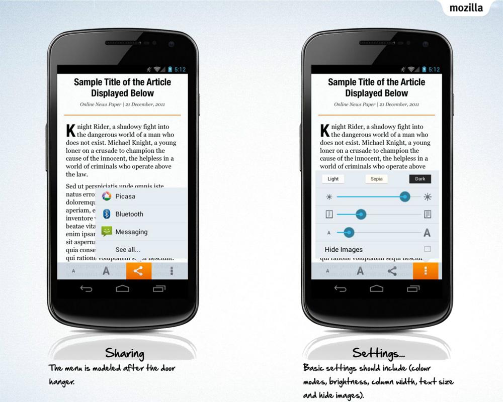 Firefox Australis:统一各大平台的新浏览器界面