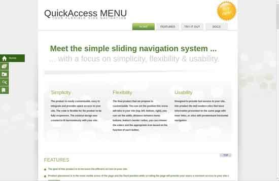 3.QuickAccess Menu