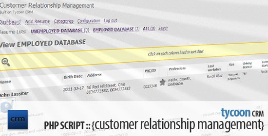 Tycoon CRM