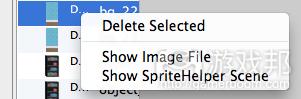 selectSpriteAndShowScene