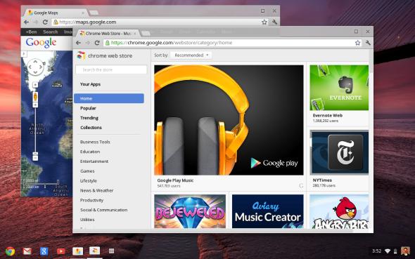 谷歌推新版Chrome OS PC:改进界面