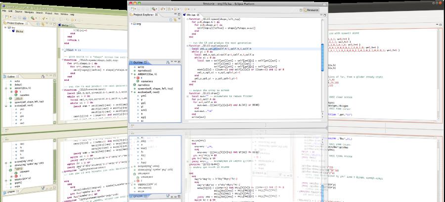 Eclipse的Lua开发插件 LDT