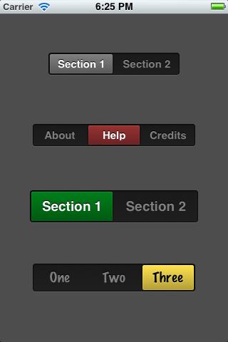 Switch Like Segmented Control
