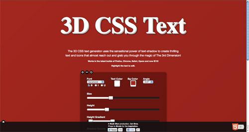 10 个方便的创建 CSS 特效的工具