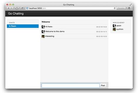 Chat demo