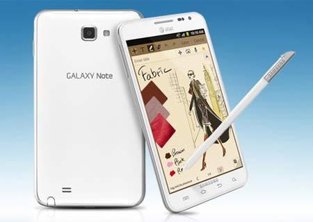 New Galaxy Note