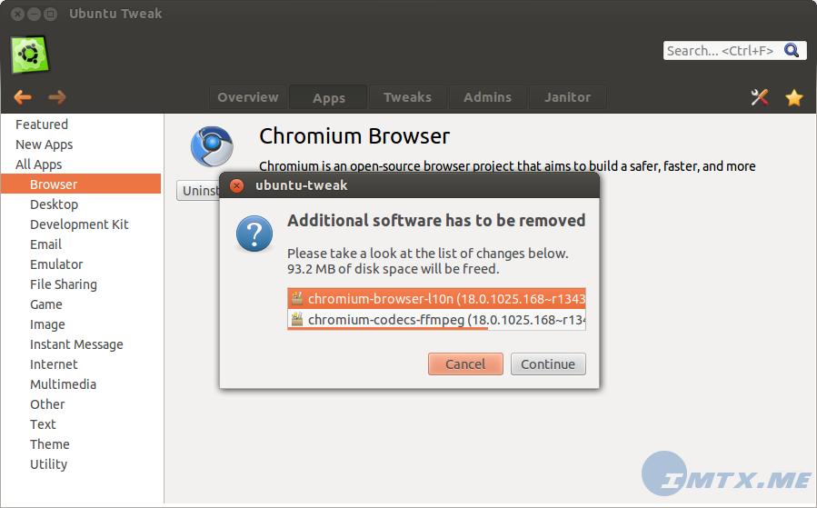 Ubuntu Tweak 0.8 preview 3
