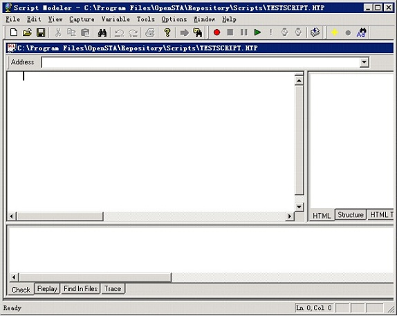 OpenSTA 操作界面