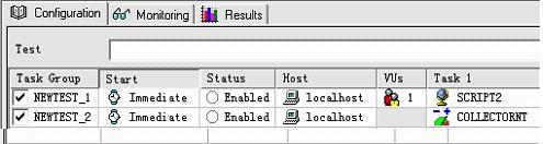 添加性能指标收集器到测试