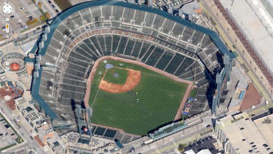 谷歌将提供更多类似的45度角航拍图
